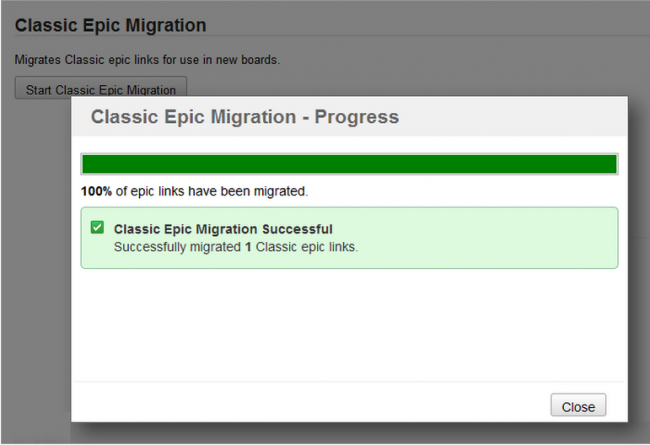 Migrating Classic Epics to JIRA Agile