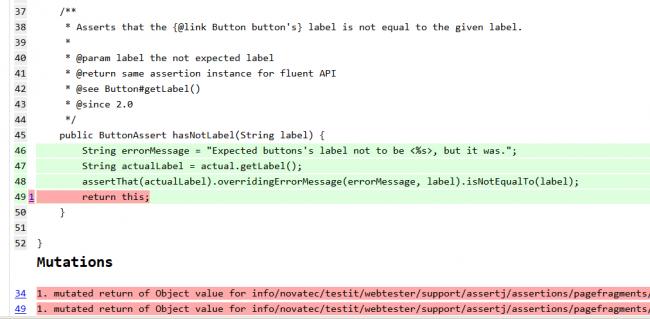 Missing Fluent API Check
