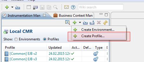 Adding JMX profile