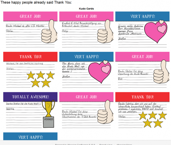 Kudos Cards For Employees | just b.CAUSE