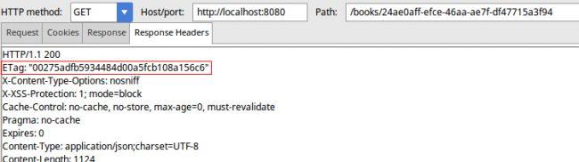 Getting the ETag HTTP response header