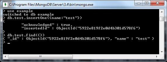 MongoDB Shell - I/O