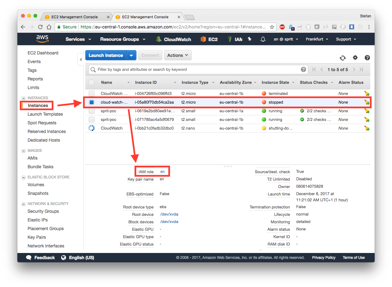 Check your logs with CloudWatch - NovaTec Blog