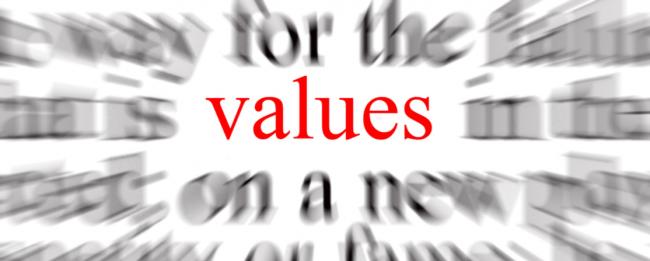 Fokus on values